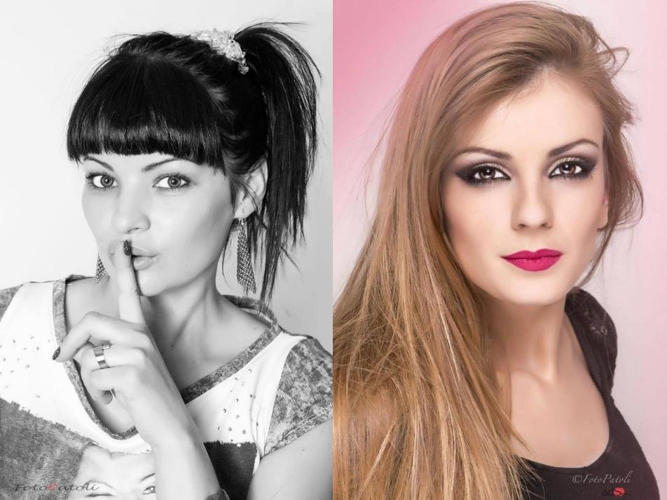 Modelo & maquilladora año 2014-2015