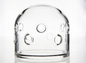 Dome glass clear