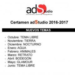 Certamen adStudio 2016-2017