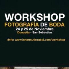 Workshop de fotografía de boda