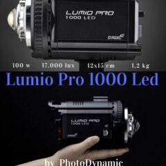 Lumio Pro 1000 Led también en 3.200 K