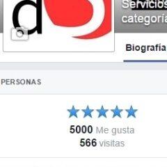 Ya somos más de 5.000 seguidores en facebook… ¡gracias a todos!…