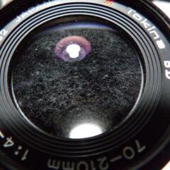 La humedad: el peor enemigo de los equipos fotográficos.